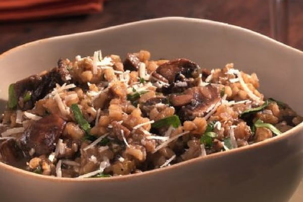 Diabetes-Friendly Mushroom Risotto